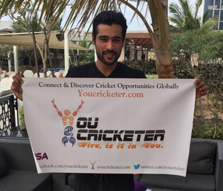 Muhammad Amir (Pakistani Cricketer) Promoting YouCricketer